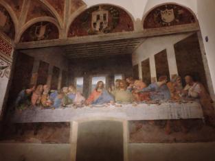 Тайная вечеря Леонардо да Винчи + пешеходная экскурсия с гидом в замок Сфорца