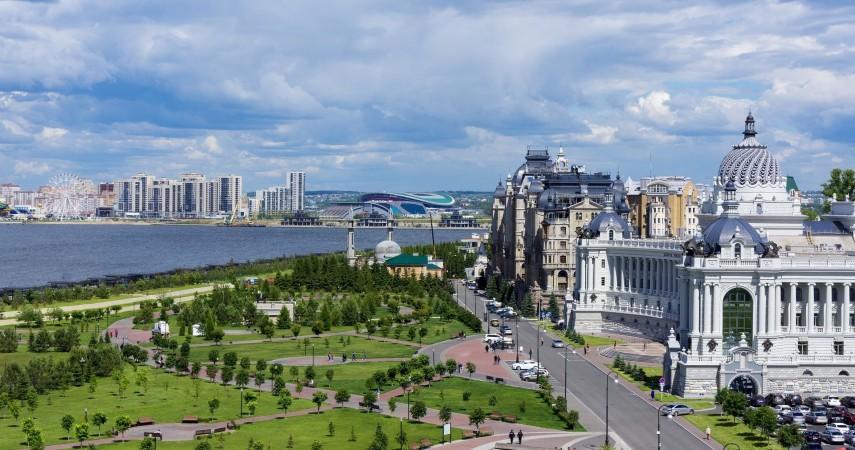 Активные туры в Казань в апреле